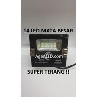 LED SOROT 10W Flood Light Lampu penerangan tembak 10 w watt outdoor