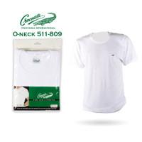 Crocodile 511 - 809 Kaos Dalam Pria T-Shirt O-neck - 1 pcs - Putih