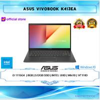 LAPTOP ASUS VIVOBOOK K413EA i3-1115G4 8GB 512GB WIN10 14FHD