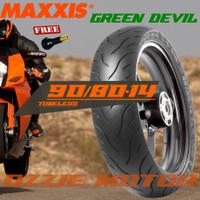 MAXXIS MA-G1 Green Devil 90 80-14 Ban Tubeless Matic Beat Mio Vario