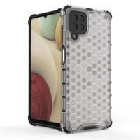 SAMSUNG GALAXY A02S HONEYCOMB SILICONE HARD CASE COVER BENING CAFELE