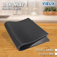bar mat anti slip / tatakan alas gelas kopi teh / Bar Mat Alas Karet