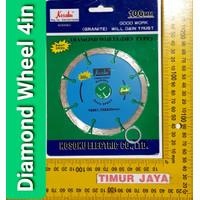 Kosoku Dry 4 Diamond Wheel / Mata Potong Keramik