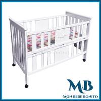 Baby Box / Box Bayi / Ranjang Bayi Nia (SOLID WOOD)