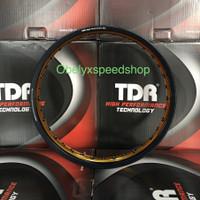 Velg TDR WX BLACK GOLD 160 ring 17