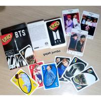 Mainan Kartu Uno BTS Koleksi Merch Aksesoris Merchandise