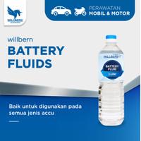 Battery Fluid Willbern / Willbern Air Accu Biru / Air Isi Aki