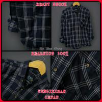 Baju Kemeja Flanel Flannel Planel Pria Panjang Kekinian Hem kotak Cowo