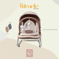 Bouncer Baby Elle /BabyElle Miracle Rocker UC 40 - Grey Berkualitas