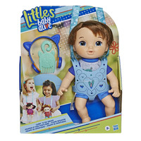 Baby Alive Carry N Go Squad Little Mateo Brown Hair Doll