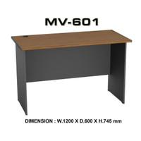 Meja kerja meja kantor VIP MV 601A finishing PVC anti air