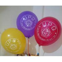 Balon Printing 12 Inchi   Bisa Custom Logo Dan Tulisan