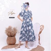 Azka Home Dress Daster Adem by Amima