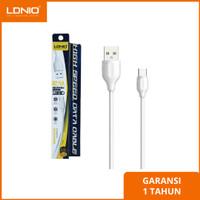 Kabel Data Charger Micro USB Samsung ASUS Xiaomi Oppo Vivo LDNIO LS38