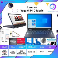 Lenovo Yoga 6 54ID fabric 2in1 Touch Ryzen 5 4650 16GB 512ssd +OHS 13