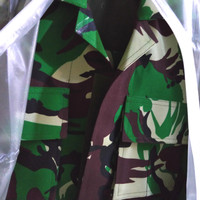 baju seragam loreng pdl TNI AD TNI AL TNI AU