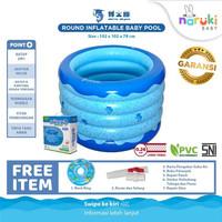 Doctor Dolphin Round Inflatable Baby Pool Kolam Renang Spa Bulat Bayi
