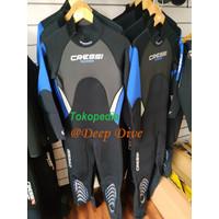Baju Selam Diving Long Wetsuit Morea Neoprene 3mm Cressi
