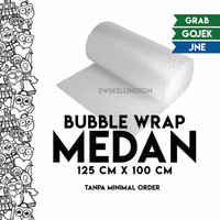 Bubble Wrap Medan (Eceran / Grosir) Plastik Gelembung