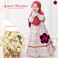baju muslim anak baju gamis anak perempuan set hijab terbaru