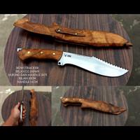 pisau bowie tracker baja D2