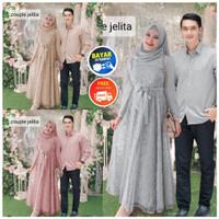 WNX - Couple Jelita / Baju Gamis / Kemeja Pria / Cod / Bisa Bayar Dite