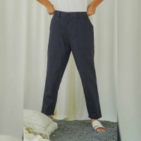 Chino Pants in Beatrice Clothing - Celana Wanita - Navy