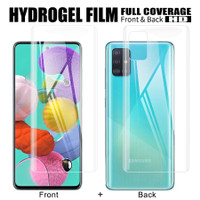Hydrogel Samsung A51 Anti Gores Jelly Depan Belakang Full Cover