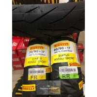 Paket Ban Pirelli Diablo Rosso Sport Ukuran 70/90-17 Dan 80/90-17