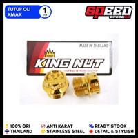 Baut Tutup Oli Suzuki Satria FU Raider Xmax Scorpio Probolt Stainless - Gold