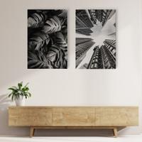 Wall Print Art Home Decor Aesthetic Minimalis Print Saja/Tanpa Bingkai - 80x120cm