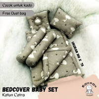 Bedcover bayi baby bedset selimut bayi Baby Nest Lucu motif angsa