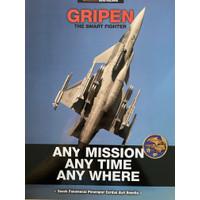 Majalah Angkasa edisi koleksi Gripen the smart Fighter