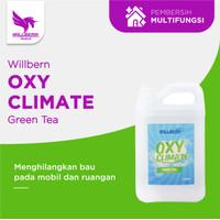 Willbern Oxy Climate cairan untuk mesin fogging mobil - vol. 5 liter