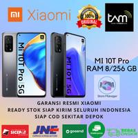 XIAOMI MI 10T PRO 5G 8/256 GB RAM 8GB INTERNAL 256GB GARANSI RESMI