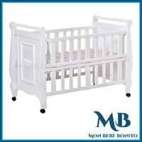 Baby Box / Box Bayi / Ranjang Bayi Anis HK074 - FULL WHITE(SOLID WOOD)