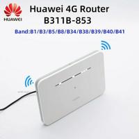 Modem mifi mobile router Huawei 4G B311B-853 slot nano sim akses NFC