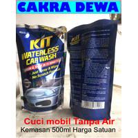 KIT WATERLESS CAR WASH shampoo tanpa air kemasan isi ulang 500ml