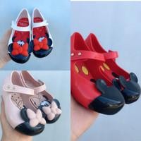 Sepatu Anak Mini Melissa Minnie Mickey Mouse / Jelly shoe Minimelissa
