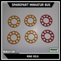 Ring Untuk Ban Miniatur Bus Skala 1:20