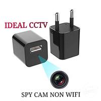 Spy Camera USB AC Adaptor Mini 1080p / Kamera Pengintai Bentuk Charger