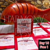ASTAXANTHIN RC10 5GR Astaxantin Red Pigmen Merah Koi Arowana Channa