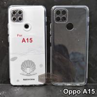 Case Oppo A15 PREMIUM CLEAR SOFT CASE Camera Cover Bening Transparan