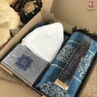 Hampers Gift Box B Kado Cowok Sajadah Al Quran Peci Tasbih Souvenir