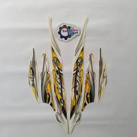 Stiker Motor Yamaha Mio Sporty 2010 Putih