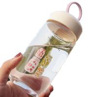 Botol Air Minum Beling Kaca Kawaii Motif by Come and Buy 1218-186