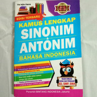 Kamus Lengkap Sinonim Antonin Bahasa Indonesia