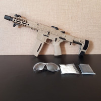 Jingji SLR CQB M4 WGB Water Gel Blaster Charger And Battery Included