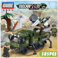 Sembo 385pc missile vehicles Army LEGO compatible Tentara mobil