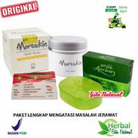 Paket Jerawat Moreskin Anti Acne Original & Erhsali Anti Acne Nasa
